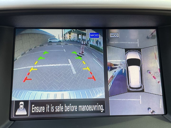 Nissan Pathfinder-PARKING CAMERA
