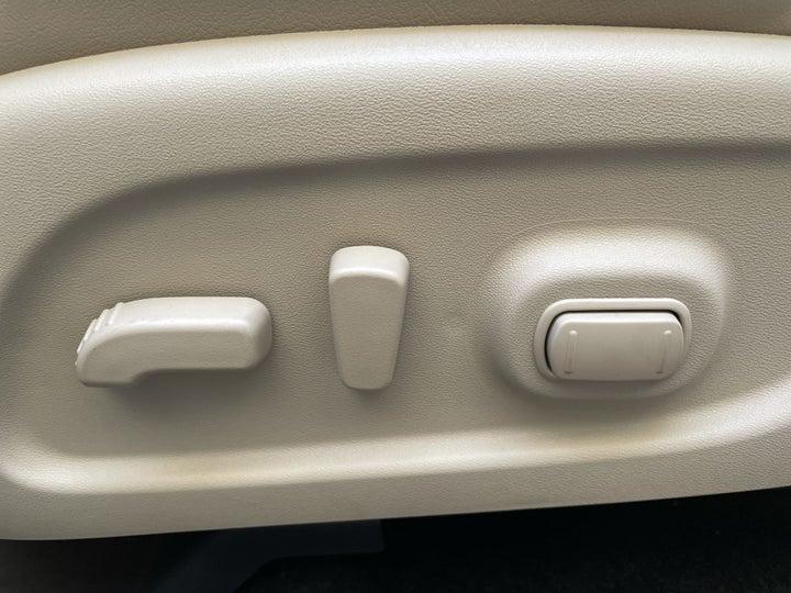 Nissan Pathfinder-DRIVER SIDE ADJUSTMENT PANEL