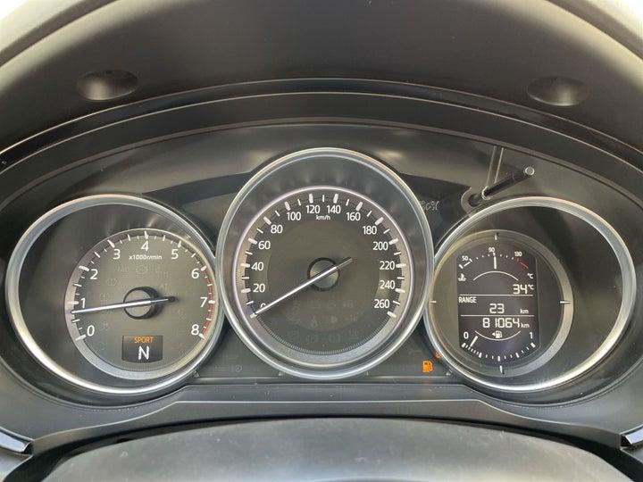 Mazda CX-9-ODOMETER VIEW