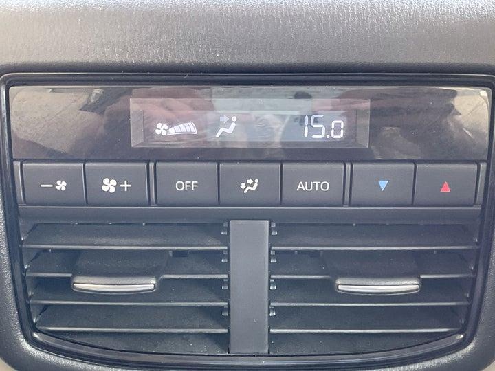 Mazda CX-9-REAR AC TEMPERATURE CONTROL