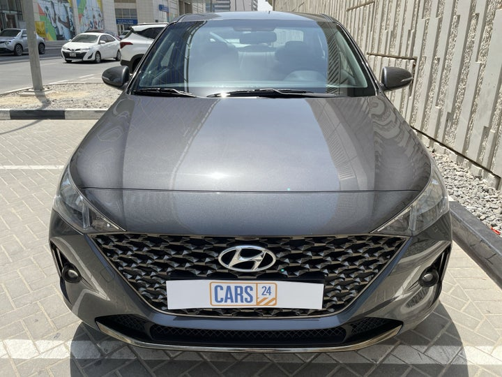 Hyundai Accent-FRONT VIEW