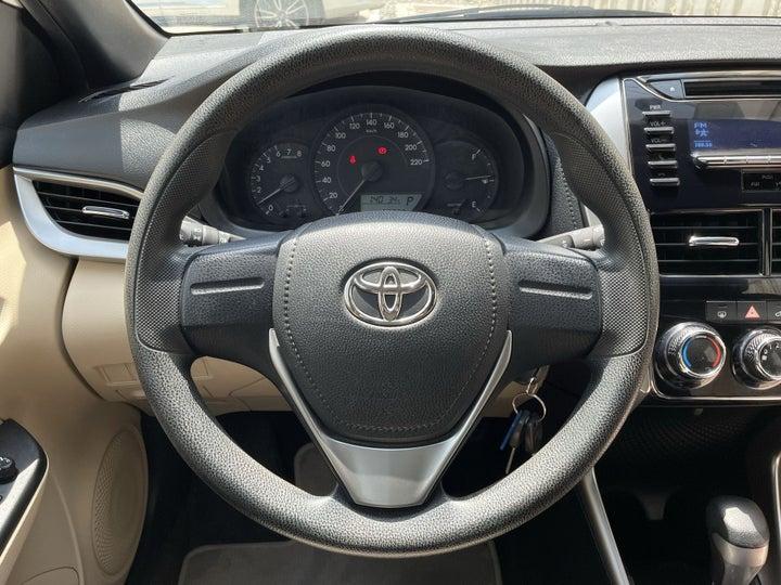 Toyota Yaris-STEERING WHEEL CLOSE-UP