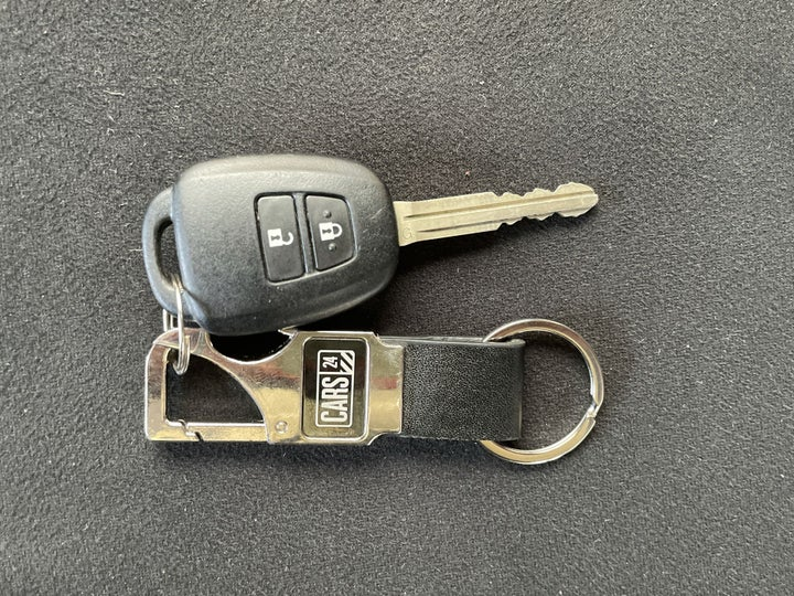 Toyota Yaris-KEY CLOSE-UP