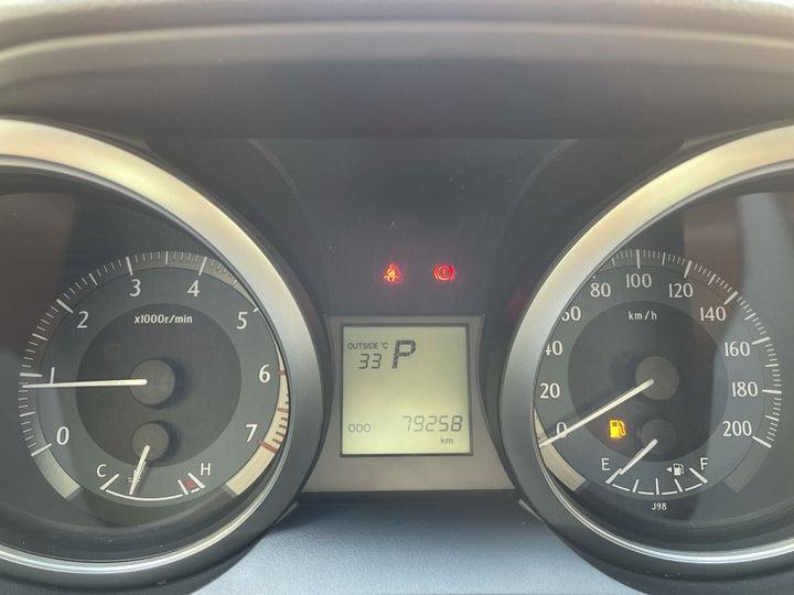 Toyota Prado-ODOMETER VIEW