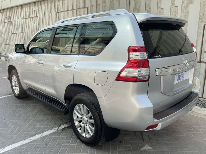 Toyota Prado-LEFT BACK DIAGONAL (45-DEGREE) VIEW