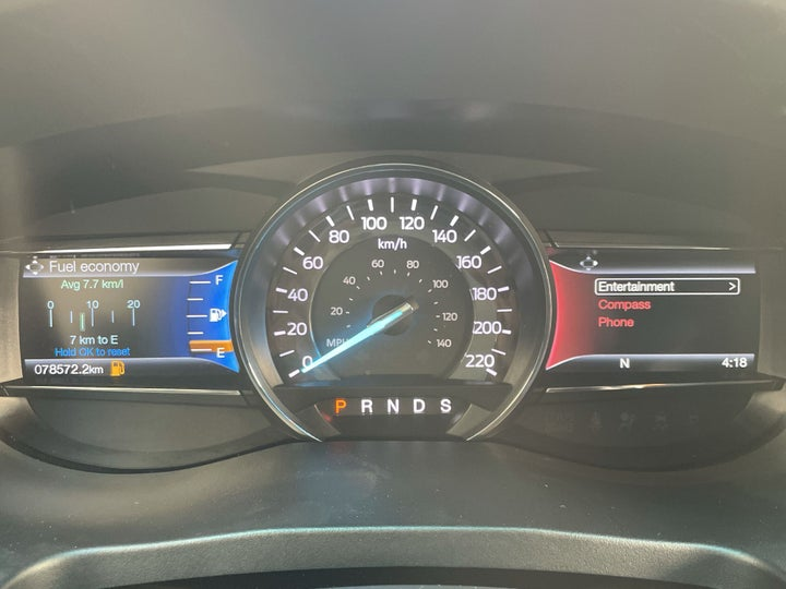 Ford Explorer-ODOMETER VIEW