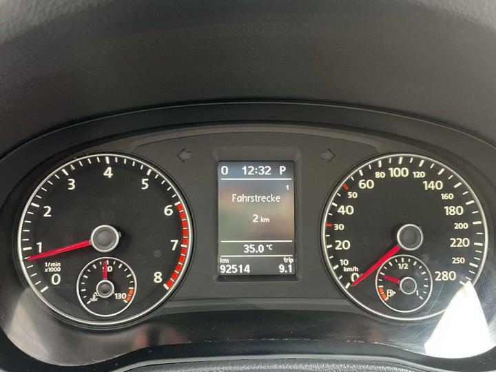 Volkswagen Passat-ODOMETER VIEW