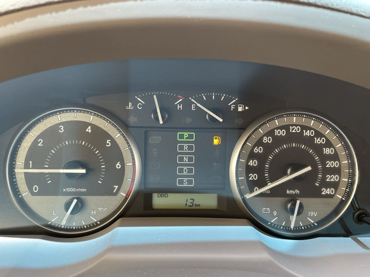 Toyota Landcruiser-ODOMETER VIEW