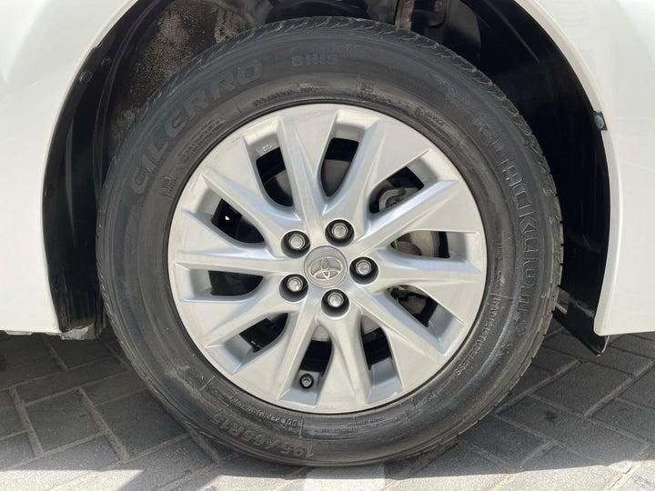 Toyota Corolla-RIGHT FRONT WHEEL