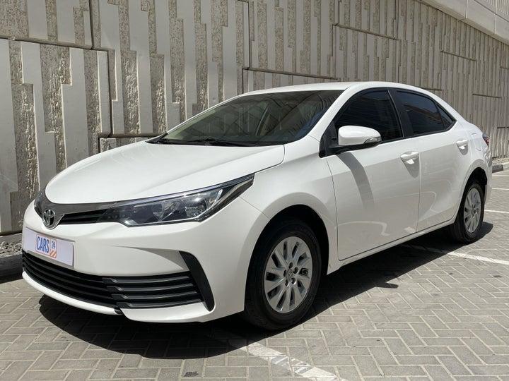 Toyota Corolla-LEFT FRONT DIAGONAL (45-DEGREE) VIEW