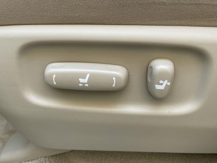 Toyota Land Cruiser-DRIVER SIDE ADJUSTMENT PANEL