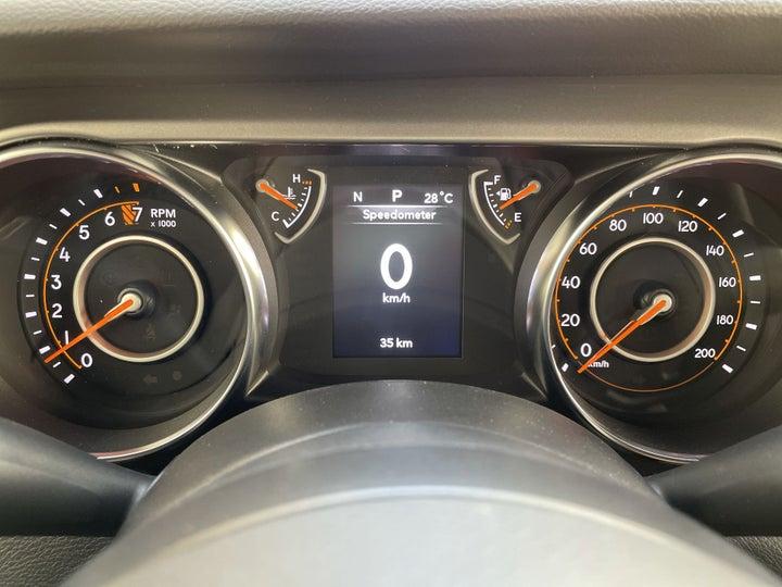 Jeep Wrangler-ODOMETER VIEW
