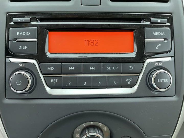 Nissan Sunny-INFOTAINMENT SYSTEM